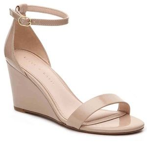 Kelly & Katie Wedge nude sandal